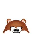 Groundhog day Marmot on white background vector image