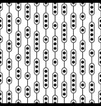black and white monochrome seamless pattern vector image