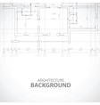 Unique black building background vector image vector image