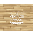 Vintage Tile wood floor striped design vector image vector image