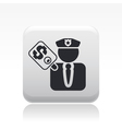 corruption icon vector image vector image