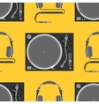 musical equipment seamless pattern vector image