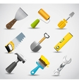 Different tools icon set1 vector image vector image