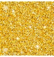 Golden dust seamless vector image