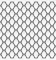 Geometric delicate simple seamless pattern vector image