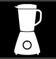 blender the white color icon vector image