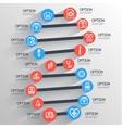 dna medical infographic backgrounds element vector image