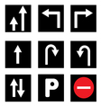 Traffic Sign Collections vector image