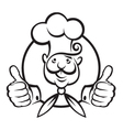 chef icon design vector image