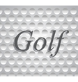 golf icons sports and games vector image