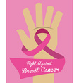 Cancer design vector image