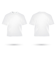t shirt white vector image