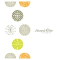 Abstract Gray and Green Polka Dot Backgr vector image vector image