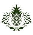 pineapple icon vector image