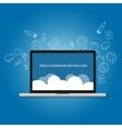 domain subdomain name com internet vector image
