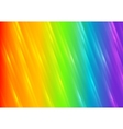 Rainbow shiny blurred stripes background vector image