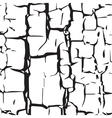 cracked texture vector image