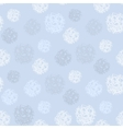 Pattern with polka dots or snowing vector image