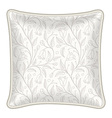 Decorative pillow vector image