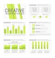 template for multipurpose presentation vector image