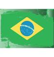 brazil national flag vector image