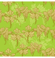 Seamless pattern - hand drawn wine grapes backgrou vector image
