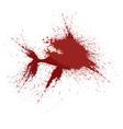 Blood Splatter Shark Graphic vector image