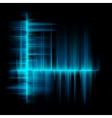 Blue lines equalizer design template EPS 10 vector image