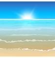 01 paradise Sea vector image