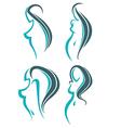 woman beauty vector image vector image
