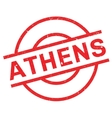 Athens rubber stamp vector image