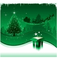 christmas greeting card design background vector image vector image