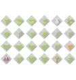 Eco web Icons Set vector image vector image