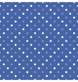 Polka dot seamless wallpaper or background vector image