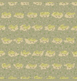 seamless pattern of crocodile vector image