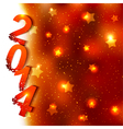 Sparkling New Year Background vector image