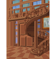 Library in Princess Palace vector image