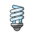 economy light bulb icon vector image