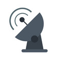 Communication signal antenna vector image