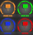 Basketball backboard icon Fashionable modern style vector image