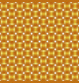seamless pattern braided gold ribbon vector image