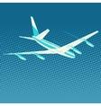 airplane flight travel tourism vector image