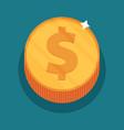 money symbol flat vector image