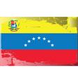 venezuela national flag vector image