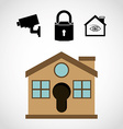 security systems design vector image