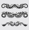 Decorative Ornamental vector image