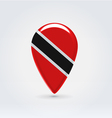 Trinidadtobago icon point for map vector