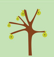 tree money vector image