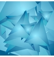Abstract tech polygonal background vector image vector image
