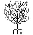 circuit tree vector image